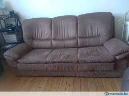 revetement canapé canapé lit revêtement microfibre a vendre à ath 2ememain be