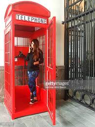 Red Phone Booth Cabinet Telephone Booth Stock Photos And Pictures Getty Images