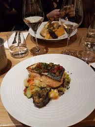 cuisine pav de saumon pavé de saumon et lentilles picture of restaurant divin clermont