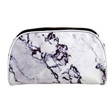 makeup bag casper coal marble cosmetic makeup bag beauty