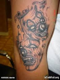 clown tattoos twisted evil clowns tattoo artists org free