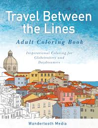 travel between the lines coloring buy now