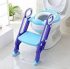 siege toilette bebe homfa siège de toilette enfant pliable et réglable reducteur de