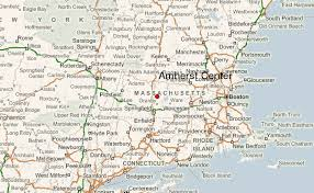 amherst map amherst center location guide