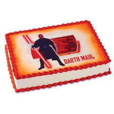 wars edible cake toppers wars darth maul edible image cake topper decoration
