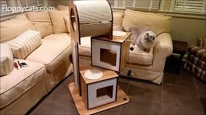 hagen vesper cat furniture v tower cat tower arrives for review