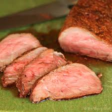baked tri tip roast in the oven