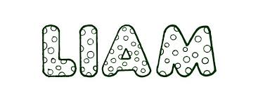 coloring pages jessica name coloring page first name liam