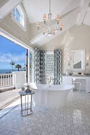 20 luxurious bathrooms with a scenic view of the ocean view in gallery beach style bathroom flows into the private balcony on one side and master bedroom on the
