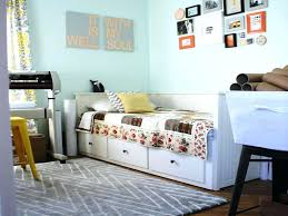 cute daybeds for girls with storage hannah white twin daybed metal