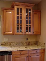 how to install crown molding on kitchen cabinets photo u2014 desjar
