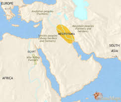 middle east map moses time map of middle east at 3500bc timemaps