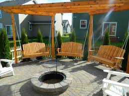 bench bench swing fire pit best fire pit swings ideas diy