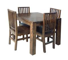 plain design wood table and chairs dining room popular extendable