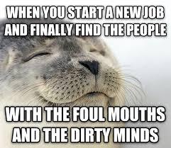 New Job Meme - livememe com seal of approval