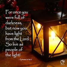 light in the darkness verse a lightstand tewkesbury lightstand