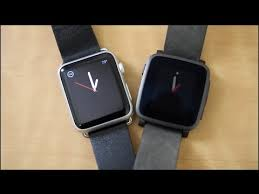 black friday pebble watch pebble time steel vs apple watch youtube