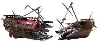 penn plax split shipwreck norbreck aquatics