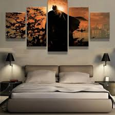Bedroom Wall Canvases Online Get Cheap Batman Wall Canvas Aliexpress Com Alibaba Group