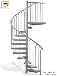 bausatz treppe spindeltreppe 14 stufen plus podest aussentreppe kappa pro 1370