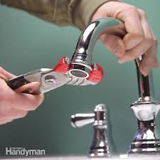 clogged kitchen faucet unclog a kitchen faucet aerator family handyman