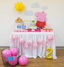 peppa pig party 17 peppa pig birthday party ideas pretty my party
