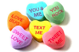 valentines heart candy sayings sweetie conversation hearts eat your tarte out baking cooking