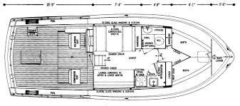 floor plan express 35 u0027 commander express chris craft commander club