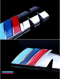 logo bmw m cool car auto decoration badge stickers m logo metal 3d car