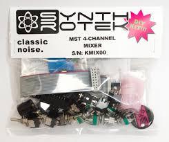 Diy Kit by Mst 4 Channel Audio Cv Mixer Diy Kit