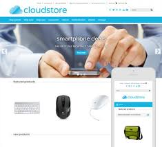cloud store a tech it and gadget theme for bigcommerce flair