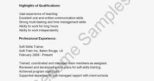 28 resume soft skills example list of soft skills for