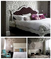 Best Damask Images On Pinterest Damasks Damask Wallpaper And - Damask bedroom ideas