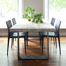 Wood Table With Metal Legs Reclaimed Wood Table Metal Top Dining Table Wood Top Metal Legs
