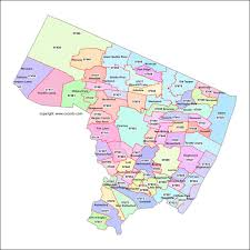 Map Of Middlesex County Nj Map Of Bergen County Nj Municipalities Image Gallery Hcpr