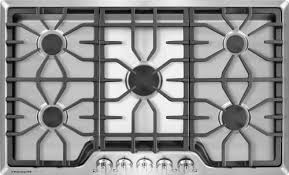 Frigidaire Downdraft Cooktop Frigidaire Fggc3645qs 36 Inch Gas Cooktop With 5 Sealed Burners