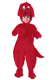 clifford halloween book deluxe clifford the big red dog costume walmart com