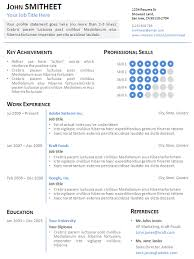 Resume PowerPoint Presentation Template Professional Resume