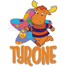 backyardigans tyrone shirt iron transfer decal 11
