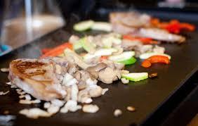 cuisiner plancha cuisiner un repas complet avec une plancha des idées de recette