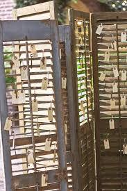idã e plan de table mariage plan de table paravent bois vintage kraft tag mariage weeding