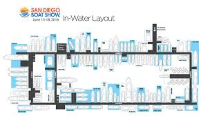 San Diego International Airport Map by Space Map San Diego International Boat Show
