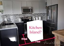 pictures of small kitchen islands white how to small kitchen island prep cart with compost