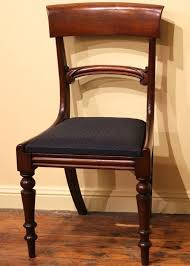 William Iv Dining Chairs Set Of 6 William Iv Early Victorian Dining Chairs The Merchant
