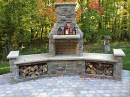 Outdoor Fire Place by Indiana Limestone Outdoor Fireplace Surround By Argylecutstone Com