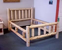 best 25 log bed frame ideas on pinterest woodworking intended for