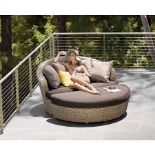 Patio Sofa Sunset Circular Outdoor Patio Couch Victory Furniture