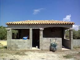 construction cuisine d t ext rieure réalisation d une cuisine d été a la fare les oliviers bouches du