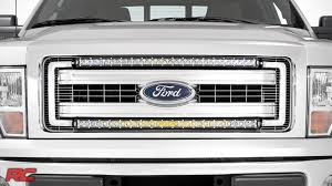 2013 f150 light bar 2009 2014 ford f 150 30 inch curved single row led light bar grille