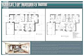 Great Room Floor Plans Single Story Habitat For Humanity 3 Bedroom House Floor Plans Simple Single Story